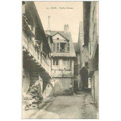 carte postale ancienne 67 BARR HAUT. Vieilles Maisons n°15