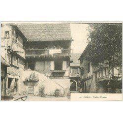 carte postale ancienne 67 BARR HAUT. Vieilles Maisons n°16
