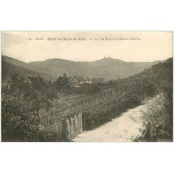 carte postale ancienne 67 BARR. Hôtel des Bains de Bühl
