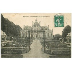carte postale ancienne 14 BALLEROY. Le Château 1908