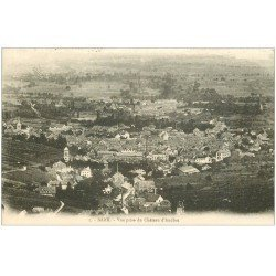 carte postale ancienne 67 BARR. Vue prise du Château d'Andlau