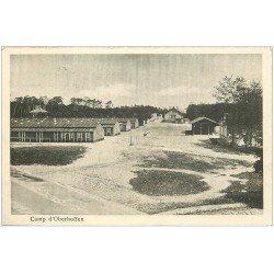 carte postale ancienne 67 CAMP D'OBERHOFFEN. Caserne 1925. Militaires et Soldats