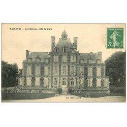 carte postale ancienne 14 BALLEROY. Le Château côté Parc 1914