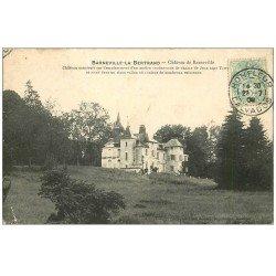 carte postale ancienne 14 BARNEVILLE-LA-BERTRAND. Le Château 1906