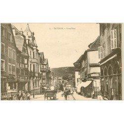 carte postale ancienne 67 SAVERNE ZABERN. Grand'Rue