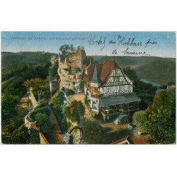 carte postale ancienne 67 SAVERNE ZABERN. Hôtel du Hohbarr 1919
