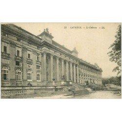 carte postale ancienne 67 SAVERNE. Le Château avec Menuisier LL 35