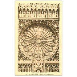 carte postale ancienne 67 STRASBOURG STRASSBURG. Cathédrale. Grande Rosace