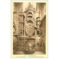 carte postale ancienne 67 STRASBOURG STRASSBURG. Cathédrale. Horloge Astronomique