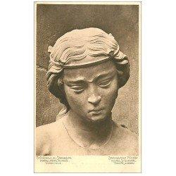 carte postale ancienne 67 STRASBOURG STRASSBURG. Cathédrale. Vierge folle Portail droite