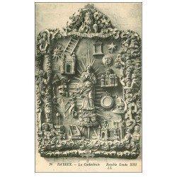 carte postale ancienne 14 BAYEUX. Cathédrale Rétable