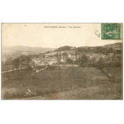 carte postale ancienne 69 AIGUEPERSE. Vue générale 1922