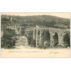 carte postale ancienne 69 AQUEDUC ROMAIN DE BONNANT 1902