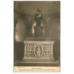 carte postale ancienne 69 AVENAS. L'Eglise. autel Abside Tabernacle Statue
