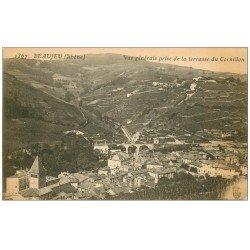 carte postale ancienne 69 BEAUJEU. Vue prise du Cornillon 1367