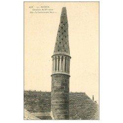 carte postale ancienne 14 BAYEUX. Cheminée Lanterne des Morts