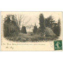 carte postale ancienne 69 CHATEAU A BLACE 1907