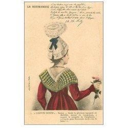 carte postale ancienne 14 BAYEUX. Coiffes d'Hier vers 1900