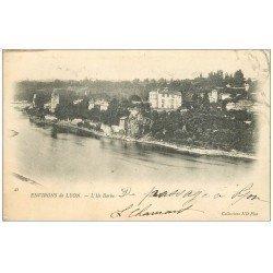 carte postale ancienne 69 L'ILE BARBE 1902