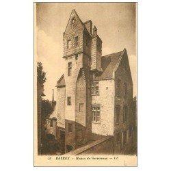 carte postale ancienne 14 BAYEUX. Maison du Gouverneur