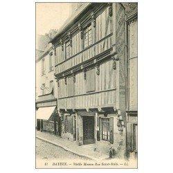 carte postale ancienne 14 BAYEUX. Maison Rue Saint-Malo
