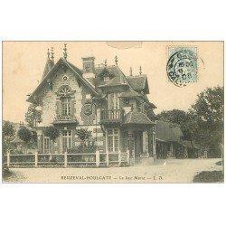 carte postale ancienne 14 BEUZEVAL-HOULGATE. Le Lieu Marot 1905 (défaut)