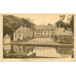 carte postale ancienne 72 AVOISE. Château de Dobert 1942
