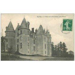 carte postale ancienne 72 CHATEAU DE LA RENAUDIERE
