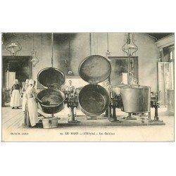 carte postale ancienne 72 LE MANS. Cuisines de l'Hôpital