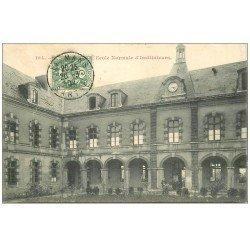 carte postale ancienne 72 LE MANS. Ecole Normale d'Instituteurs 1907