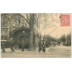 carte postale ancienne 14 CAEN. Boulevard Saint-Pierre 1907