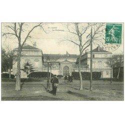 carte postale ancienne 14 CAEN. La Préfecture 1910