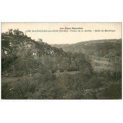 carte postale ancienne 72 SAINT-LEONARD-DES-BOIS. Butte Montaigu