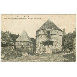 carte postale ancienne 72 SAINT-LEONARD-DES-BOIS. Châtellerie de l'Inthe 1915