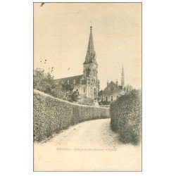 carte postale ancienne 72 SOLESMES. Abbaye Bénédictins 1903