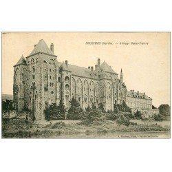 carte postale ancienne 72 SOLESMES. Abbaye Saint-Pierre