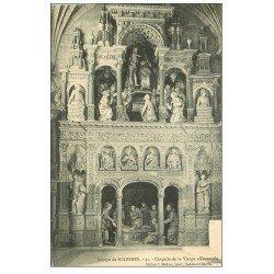 carte postale ancienne 72 SOLESMES. Chapelle vierge