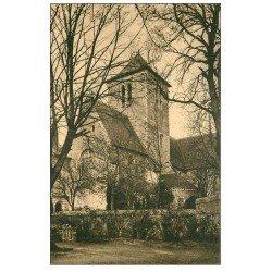 carte postale ancienne 72 SOLESMES. Clocher Eglise