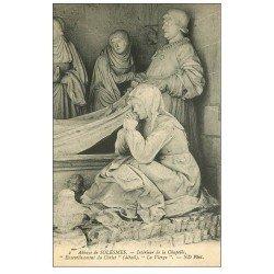 carte postale ancienne 72 SOLESMES. Ensevelissement Christ