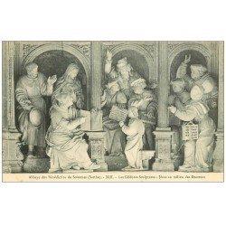 carte postale ancienne 72 SOLESMES. Jésus et Docteurs