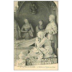 carte postale ancienne 72 SOLESMES. Madeleine Tombeau du Christ 22