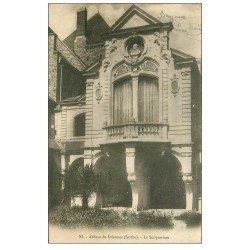 carte postale ancienne 72 SOLESMES. Scriptorium 1903