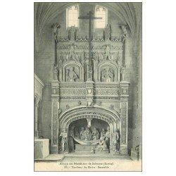 carte postale ancienne 72 SOLESMES. Tombeau Christ