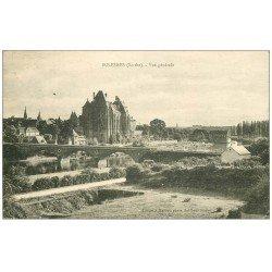 carte postale ancienne 72 SOLESMES. Vue générale 1926