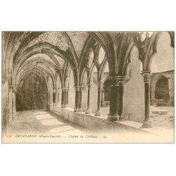 carte postale ancienne 74 ABONDANCE. Abbaye Cloître 157