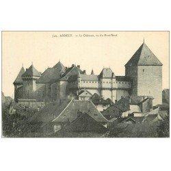 carte postale ancienne 74 ANNECY. Le Château 729