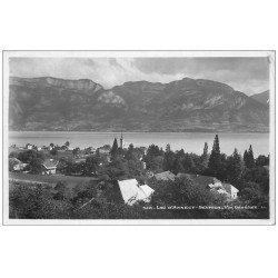 carte postale ancienne 74 ANNECY. Sevrier 1938 carte photo
