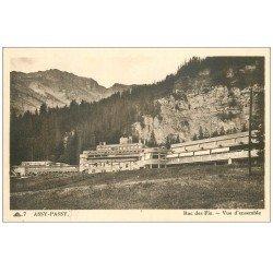 carte postale ancienne 74 ASSY-PASSY. Roc des Fiz