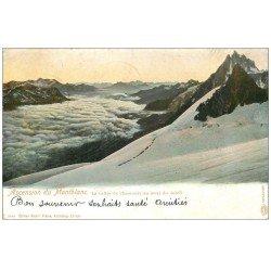 carte postale ancienne 74 CHAMONIX. Ascension du Mont Blanc 1903