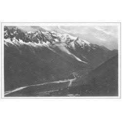 carte postale ancienne 74 CHAMONIX. Chaîne Mont Blanc